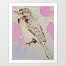 Bye bye birdie Art Print