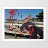 Locals Only - Rio De Jan… Art Print