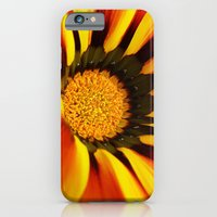 iPhone & iPod Case featuring Orange flower by Mendelsign