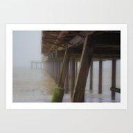 Beach Mist Art Print