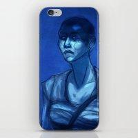 Furiosa In Blue iPhone & iPod Skin