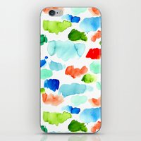 Watercolor Swatch Pattern iPhone & iPod Skin