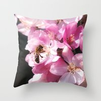 The Taste Of Spring Throw Pillow