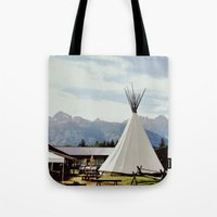 Mountain Life Tote Bag