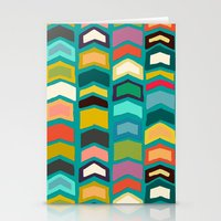 Arrow Pop Turquoise Stationery Cards