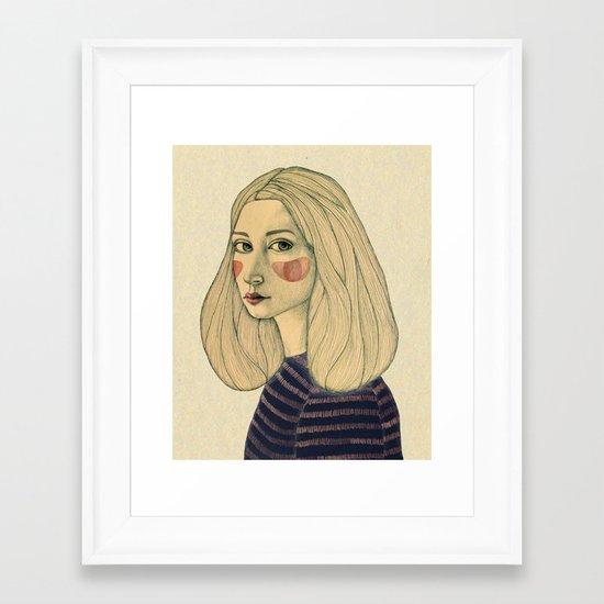 Susie Framed Art Print