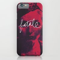 iPhone & iPod Case featuring femme fatale by suchdainties