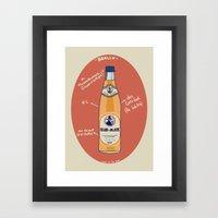 Club-Mate Framed Art Print