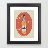 Club-Mate Framed Art Print