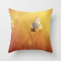 Catching A Little Sunshi… Throw Pillow