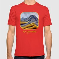 Ngauruhoe - Mount Doom 2 Mens Fitted Tee Red SMALL