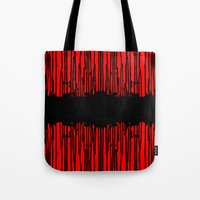 Partial Abstract V2 Tote Bag