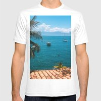 Boats Mens Fitted Tee White SMALL