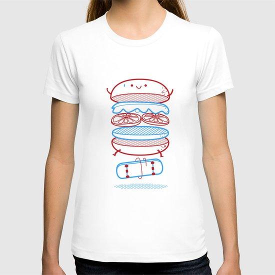 Street burger  T-shirt