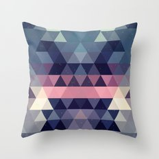 Triangle Space Throw Pillow