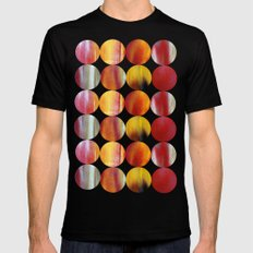 nature's abstract Mens Fitted Tee Black SMALL