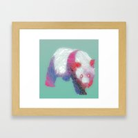 Pandamonium Framed Art Print