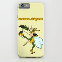 iPhone & iPod Case featuring Steven Cigale by jean-baptiste MUS