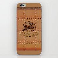 Steampunk Bike iPhone & iPod Skin