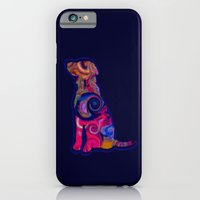 Psychedelic Dog iPhone 6 Slim Case