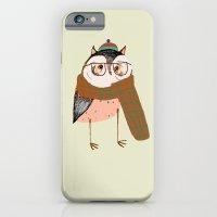 Owls Love Scarfs.  iPhone 6 Slim Case