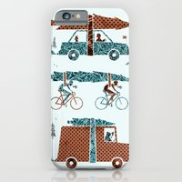 iPhone & iPod Case featuring Tree Transportation by Kinnon Elliott Illustration & Design