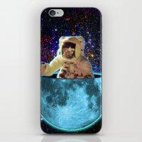 The Man In The Moon iPhone & iPod Skin