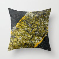 Asphalt 3 Throw Pillow