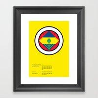 Fenerbahçe Framed Art Print