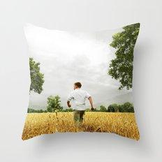 Large African skies Throw Pillow