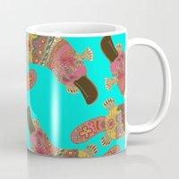 Duck-billed Platypus Tur… Mug