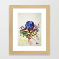 Home Sweet Home. Framed Art Print
