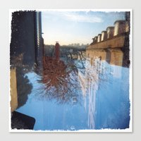 Upside Down #1 Canvas Print