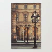 Paris Lights Canvas Print