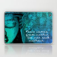 Aqua Buddha Laptop & iPad Skin