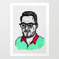 Selfy, Raúl Art Print