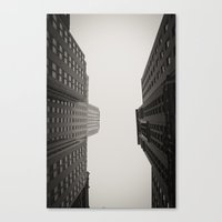Race To The Sky Canvas Print