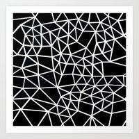 Segment Dense Art Print