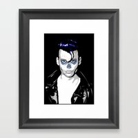 Day Of The Depp Framed Art Print