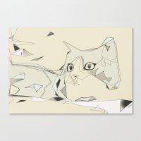 cat2 Canvas Print