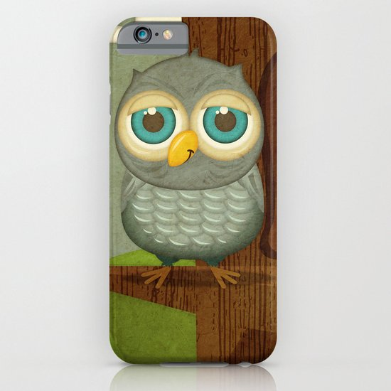 Fat Little Owl iPhone & iPod Case