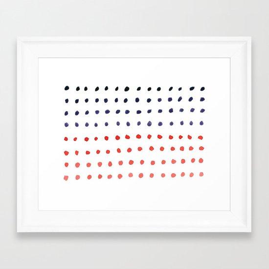 Like Candy Framed Art Print