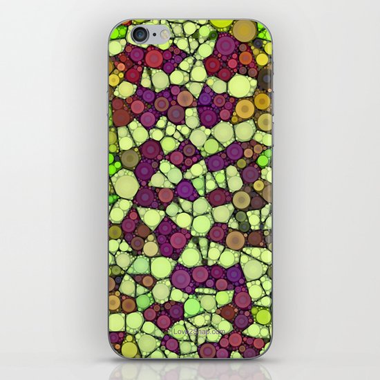 Stained Glass Jewels iPhone & iPod Skin