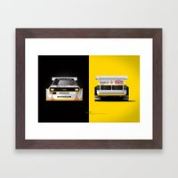 Group B Edition, N.º3, … Framed Art Print
