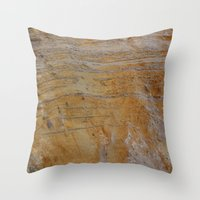 Unconformity Throw Pillow
