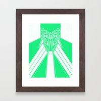 Power Wolf Lite Framed Art Print