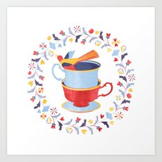 You're my cup of tea Art Print