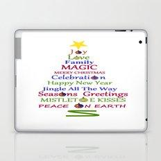 Holiday Tree Laptop & iPad Skin