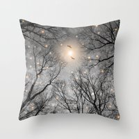 Nature Blazes Before You… Throw Pillow
