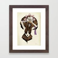 C A P R I C O R N - colour edition Framed Art Print